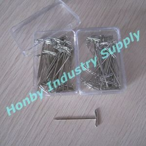 27mm Stainless Steel T Shaped Shirt Pins pictures & photos
