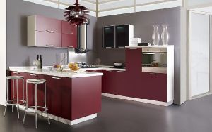 Plastic Cupboards in Kitchen, How to Install Kitchen Cabinets pictures & photos