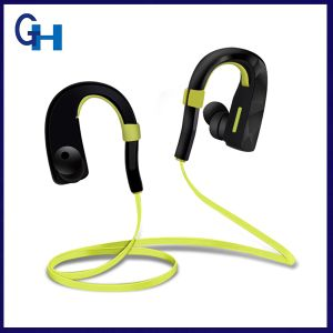 V4.1 Wireless Sweatproof Rotatable Earhook Blue Tooth Headphones with Mic pictures & photos