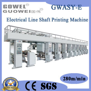 Automatic High Speed Electrical Shaft Color Printing Machine (GWASY-E) pictures & photos