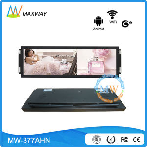 Android OS 37.2 Inch Ultra Wide Stretch Frame Ad display with 3G 4G WiFi LAN pictures & photos