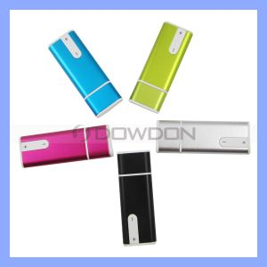 Portable Mini Colorful Clip 4GB 8GB Audio Voice Recorder with MP3 Player function pictures & photos