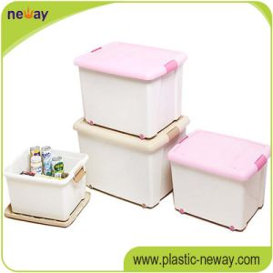 Manufacture 96L Plastic PP Storage Box Container with Wave pictures & photos