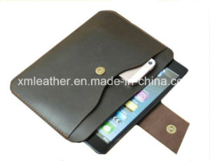 Custom Size Leather Tablet Sleeve Bag for Pads pictures & photos