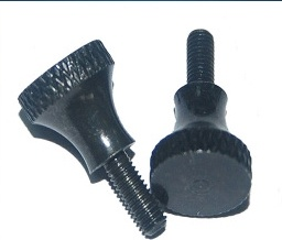 Knurling Steel Thumb Screw with Black Plating pictures & photos