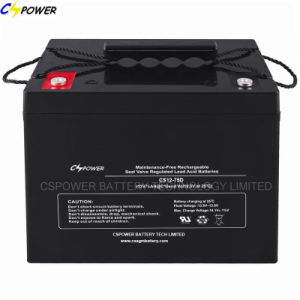 High Quality Lead Acid AGM Battery for Solar Power 12V90ah pictures & photos