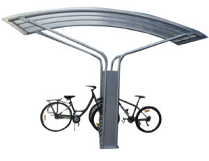 Hot-Dipped Galvanised Outdoor Bike Parking Shelters pictures & photos