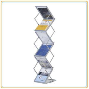 Folding Acrylic Magazine Showing Shelf/ Plexiglass Book Display (A3) pictures & photos