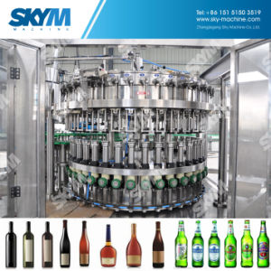 Automatic Glass Bottled Wine Vodka Beer Filling Machine pictures & photos