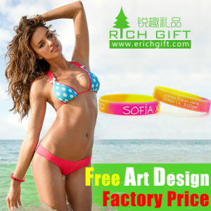 Custom All Design Activity Silicone Wristband at Factory Price pictures & photos