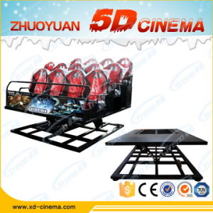 High Technology 5D Game Machine Dynamic Cinema Equipment in Guangzhou China pictures & photos