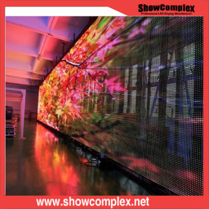 P10 High Transparent Indoor LED Display Screen pictures & photos