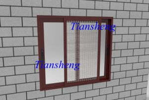 Aluminum Double Glass Window/Low-E Glass Window pictures & photos