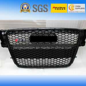 """Auto Front Grille for Audi RS1 2010-2014"""" with Black Logo pictures & photos"""