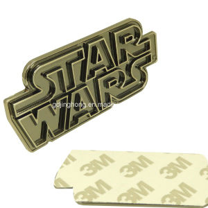 Star Wars Metal Plate with 3m Adhesive Tape Back pictures & photos