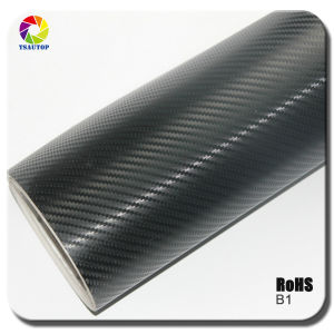 High Quality 3D Carbon Fiber Vinyl for Car Wrapping&B1b pictures & photos