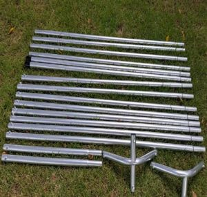 Twisted Poly Batting Cage Frame Only pictures & photos