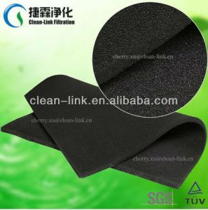 Guangzhou Supplier Activated Carbon Sponge Filter Mesh pictures & photos