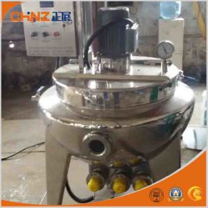 Steam Heating Tilting Jacketed Kettle pictures & photos
