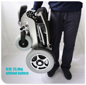 Tiny 6L Foldable and Portable Electric Wheelchair pictures & photos