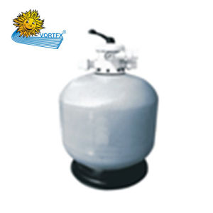 T525 Economical Top-Mount Fiberglass Sand Filter for Swimming Pool and Sauna