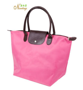 2016 Fashionable Folding Polyester Tote Bag pictures & photos