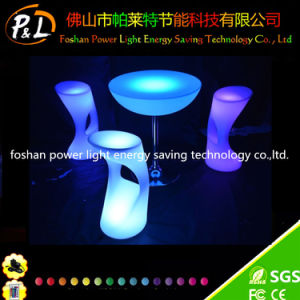 Luminous PE LED Furniture Colorful LED Light Stool pictures & photos