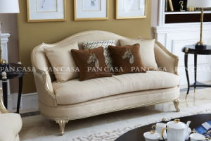 High Quality Classical Wooden Furniture Living Room Sofa (MS-B6032) pictures & photos