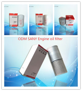 ODM/OEM Sany Excavators Engine Oil Filter pictures & photos