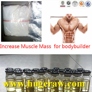 Gaining Muscle Bodybuilding Steroid Raw Testosterone Acetate Powder pictures & photos