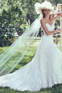 Lace Wedding Dress Cap Sleeves Beading Bridal Gown 2017 H5209 pictures & photos