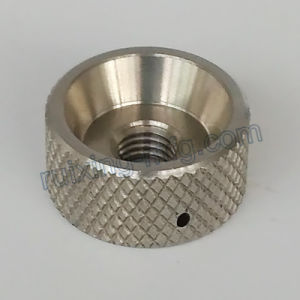Precision CNC Turning Machining Stainless Steel Locking Collar with Knurling pictures & photos