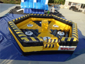 New Arrival Attractive Inflatable Wipe out Game Mat for Sale pictures & photos
