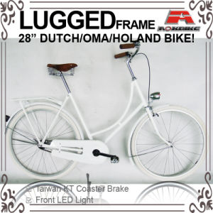 "Lugged Frame 28"" Coaster Brake Holand Bicycle for Lady (AYS-2828S-9) pictures & photos"