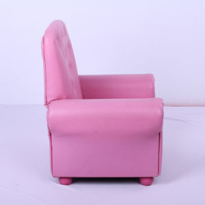 Living Room Cheap Lovely Pink Baby Soft Sofa/Children Furniture pictures & photos