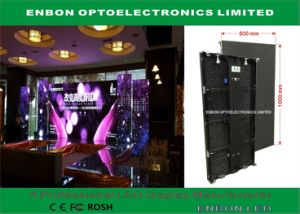 Hot Selling 500*1000mm Die Casting Cabinet LED Video Display for Rental pictures & photos