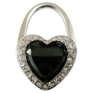 Promotional Heart Shape Fashion Purse Holder with Crystal Diamond (F2017)