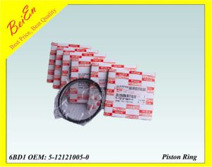 Good Quality Piston Ring for Excavator Engine 6bd1 (Part Number: 5-12121005-0) pictures & photos