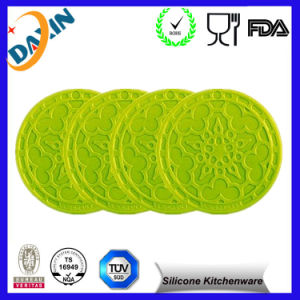Supply Fashion Design Silicone Mat/Silicone Table Mat/Silicone Lace Mat pictures & photos