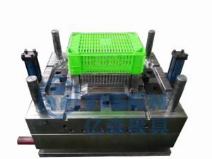 China Injection Plastic Mould, Plastic Injection Crate Mould Making