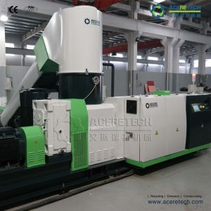 High Quality Waste Plastic Fiber Recycling Pelletizing Line pictures & photos