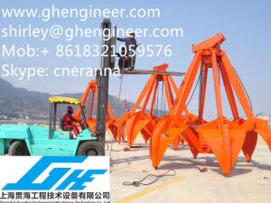 Four Ropes Orange Peel Port Crane Grab 25t 30t pictures & photos