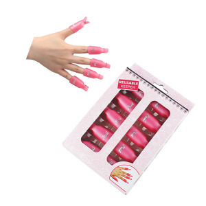 Plastic Wearable Gel Nail Polish Remover Nail Soaker pictures & photos