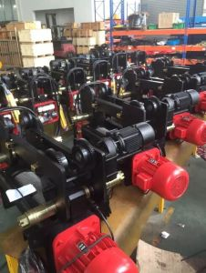 Standard-Headroom Travelling Hoist (4/1 Rope Reeving) , Lifting Machines, Construction Hoist, Wire Rope Winch pictures & photos