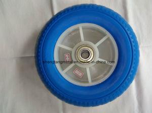 "High Quality PU Solid Wheel 10"""