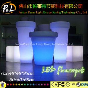 Waterproof Plastic Flower Pot/ Garden LED Flower Pot pictures & photos