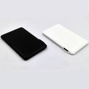 2015 New Plastic Thin Power Bank for Cell Phone (JC-P007D 2500mAh)