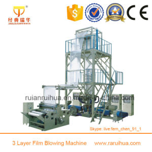 Three Layer LDPE Greenhouse Film Blowing Machine pictures & photos