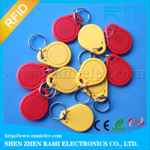 ABS Lf Smart 125kHz T5577 RFID Keychain for Access Control pictures & photos