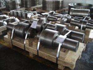 Forging SAE1045 Mechanical Steel Motor Turbine Shaft pictures & photos